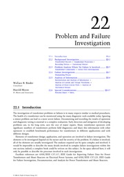 Chapter 22. Problem and Failure Investigation
