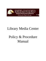 mildredselection_policy.doc