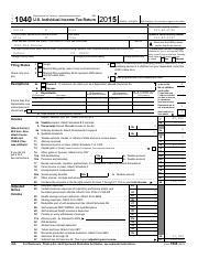 Roberta Santos Form 1040 - 1 040 Department of the Treasury ...