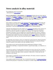 Stress analysis in alloy material.docx