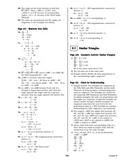 Pre-Calculus Homework Solutions 159