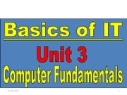 Basic of IT Unit3