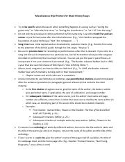 Miscellaneous Style Pointers for Music History Essays.pdf