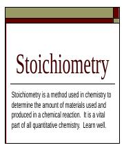 Stoichiometry.ppt
