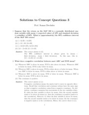 Solutions to Concept Questions 3