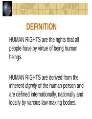Overview on Human Rights_0