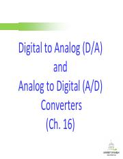 Analog-to-Digital Converter(2)