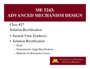 Lecture 27 on Advanced Mechanism Design
