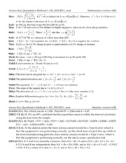 QM1 2010b Answers