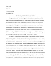 intro to lit final essay