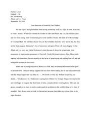 Essay on manifest destiny