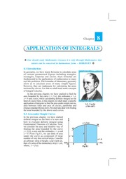 Chapter 8  Application of the Integral 08_11_06
