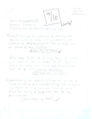 Art and Practice of Math Notes 5