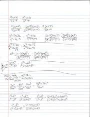 Tri and Binomial Division Notes