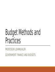 Chapter _5 Budget Methods and Practices.pptx