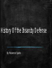 History Of the Insanity Defense.pptx