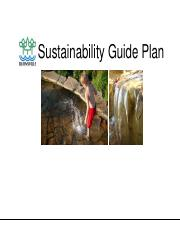 Sustainability Guide Plan