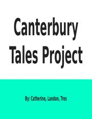 Canterbury Tales Project