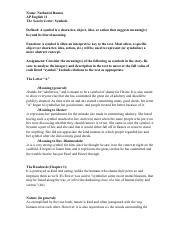 4 pages scarlet letter symbols activity solo ap ipadpdf