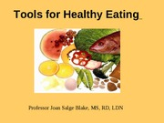 HS201 - (2) Tools For Healthy Eating