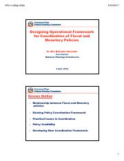 Coordination of Fiscal and Monetary Policies Dr. Min B. Shrestha (1).pdf