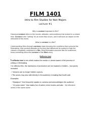 FILM 1401 FIRST YEAR NOTES.docx