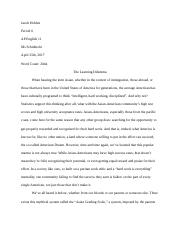 Revised American Dream Research Project.docx