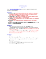 STUDY_GUIDE Lab Practical 1