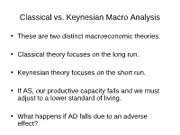 Classical and Keynesian-3