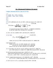 Ch 2 TVM HW Problems-Answer