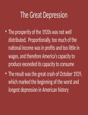 PP The Great Depression in CA