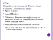CH6 part 2 cog dev and vygotsky PSYC 2076