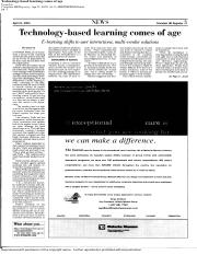 Week 3 - Technology Based Learning Comes of Age.pdf