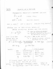 13.1 - 13.4 lecture notes
