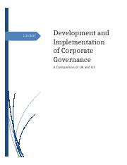Modified Essay_on_Development_and_Implementation_of_Corporate_Governance.docx