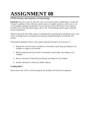 PS320A Assignment 8