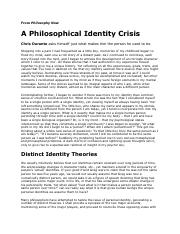 IP - Problem of Identity - A Philosophical Identity Crisis from Philosophy Now.pdf