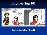 16 - Intro to MATLAB