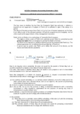 ACC221 Sols to week 7 Additional Qs (S1 2012)