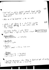 Record Modes Notes