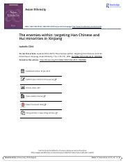 The enemies within targeting Han Chinese and Hui minorities in Xinjiang (1).pdf
