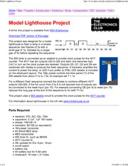 Model Lighthouse Project