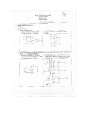 EE 347 Midterm Solution (Winter 2011)