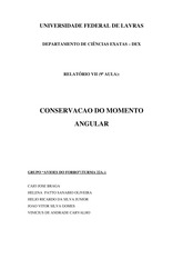 Relatorio VII - Conservacao do Angular