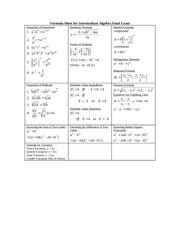 Inequalities Study Resources