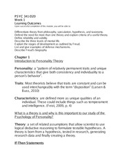 Personal theory paper liberty