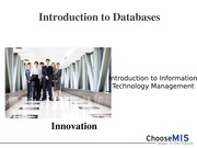 Class 15 and 16 - Databases