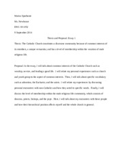 Essay1Thesis