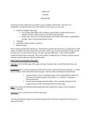 NURS 2130 research paper guidelines