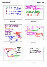 Fundamental theorem notes